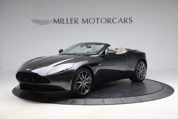 New 2021 Aston Martin DB11 Volante Convertible for sale $270,386 at Bentley Greenwich in Greenwich CT 06830 1