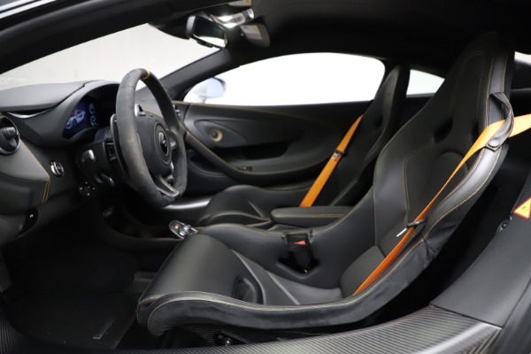 Used 2019 McLaren 600LT for sale $223,900 at Bentley Greenwich in Greenwich CT 06830 14