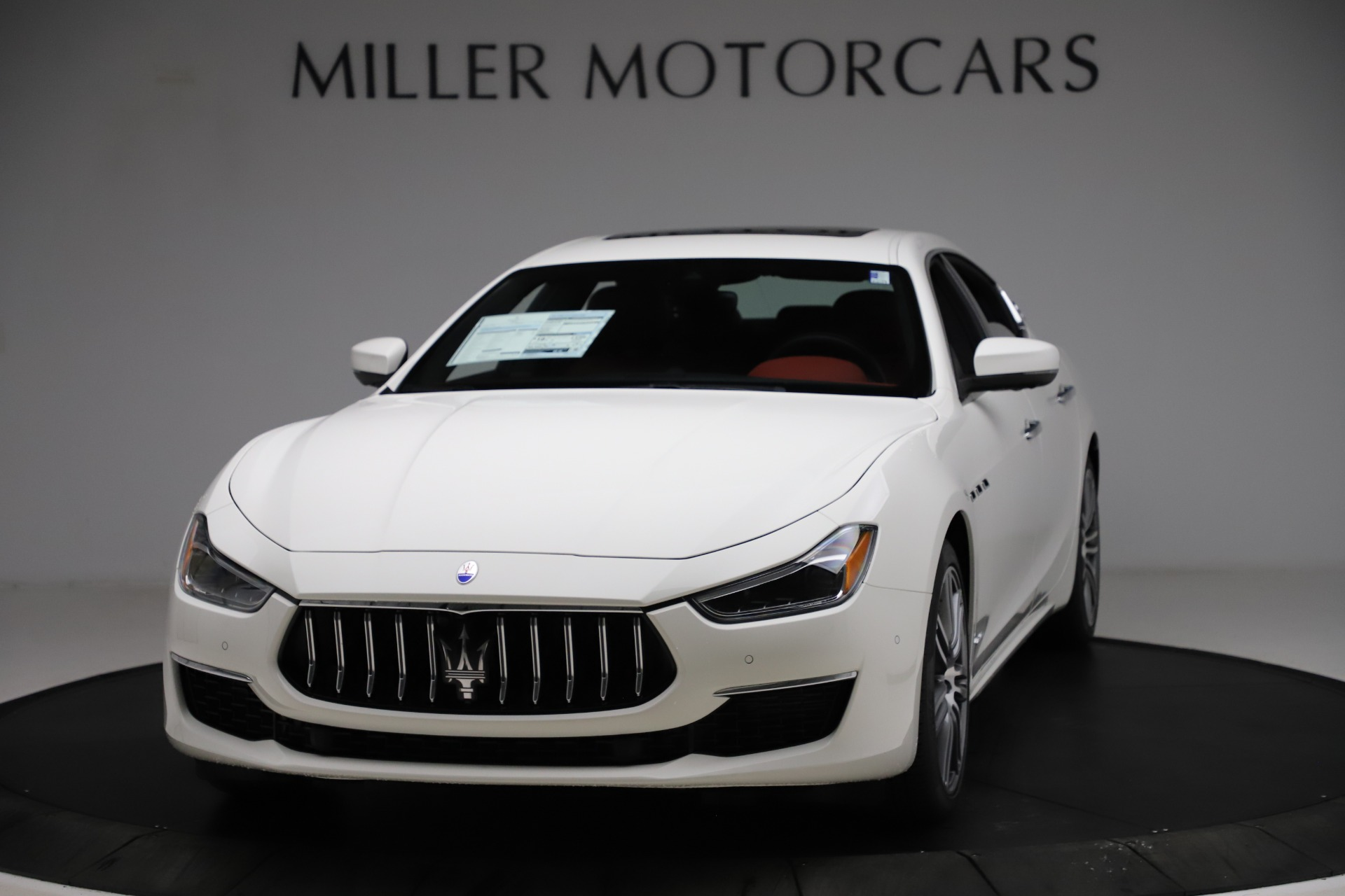 New 2021 Maserati Ghibli S Q4 GranLusso for sale $95,835 at Bentley Greenwich in Greenwich CT 06830 1