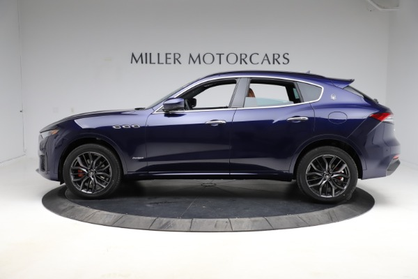New 2021 Maserati Levante Q4 GranSport for sale Sold at Bentley Greenwich in Greenwich CT 06830 3