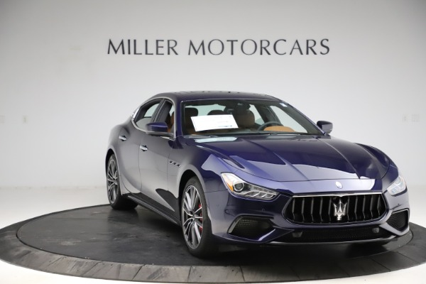 New 2021 Maserati Ghibli S Q4 for sale $90,925 at Bentley Greenwich in Greenwich CT 06830 11