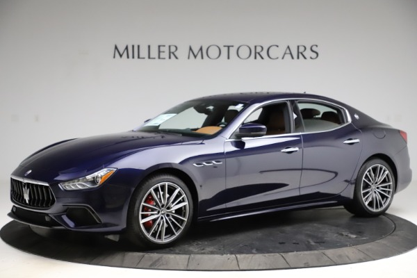 New 2021 Maserati Ghibli S Q4 for sale $90,925 at Bentley Greenwich in Greenwich CT 06830 2