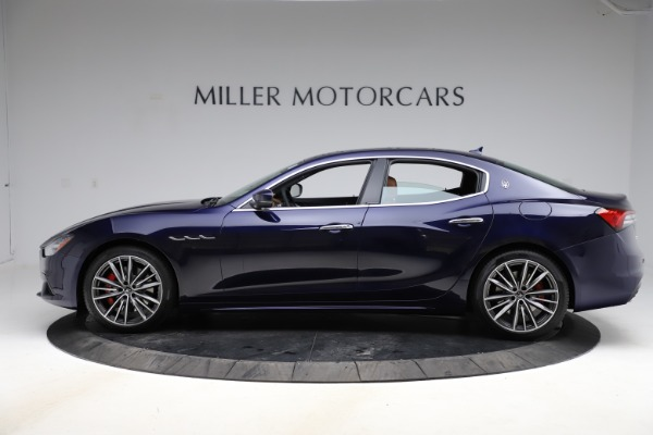 New 2021 Maserati Ghibli S Q4 for sale $90,925 at Bentley Greenwich in Greenwich CT 06830 3