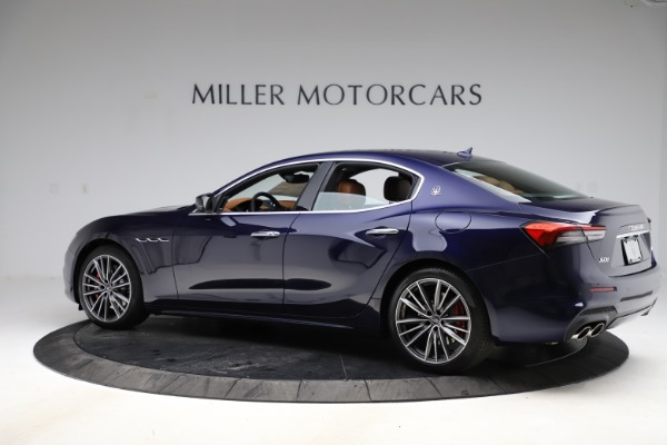 New 2021 Maserati Ghibli S Q4 for sale $90,925 at Bentley Greenwich in Greenwich CT 06830 4