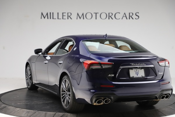 New 2021 Maserati Ghibli S Q4 for sale $90,925 at Bentley Greenwich in Greenwich CT 06830 5