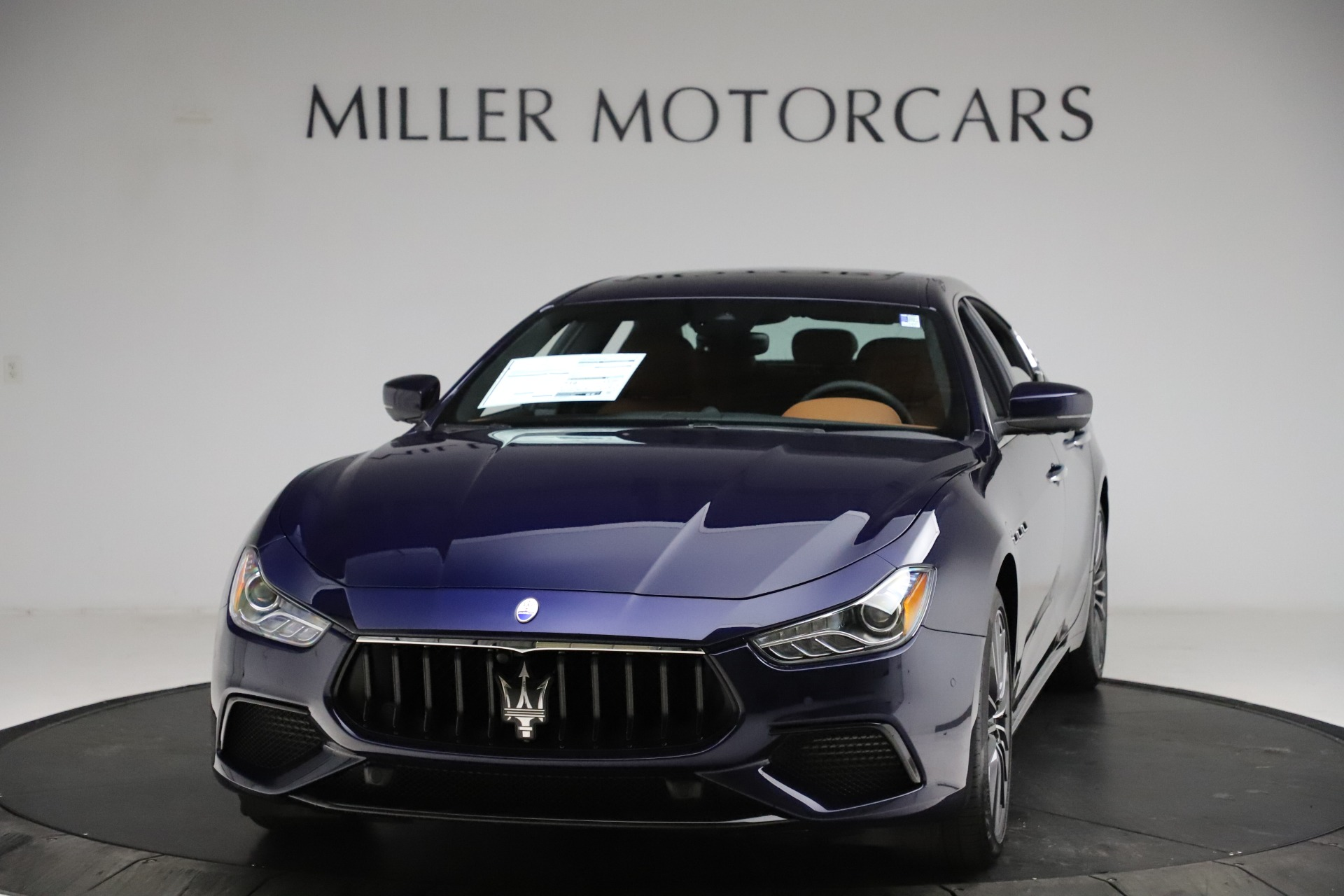 New 2021 Maserati Ghibli S Q4 for sale $90,925 at Bentley Greenwich in Greenwich CT 06830 1