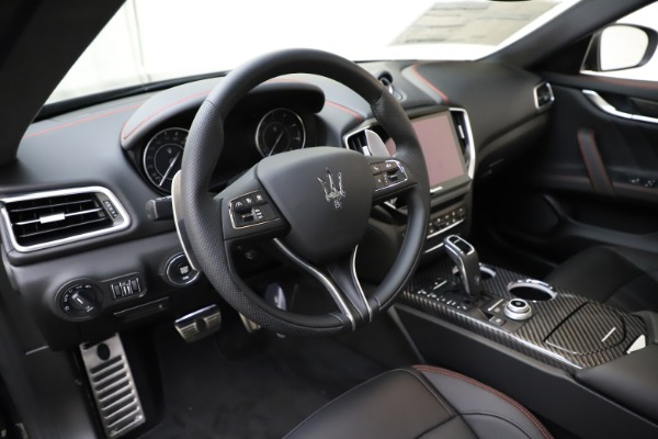 New 2021 Maserati Ghibli S Q4 GranSport for sale $98,035 at Bentley Greenwich in Greenwich CT 06830 16