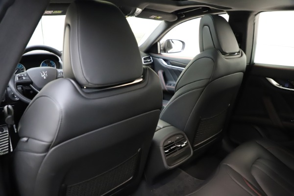 New 2021 Maserati Ghibli S Q4 GranSport for sale $98,035 at Bentley Greenwich in Greenwich CT 06830 22