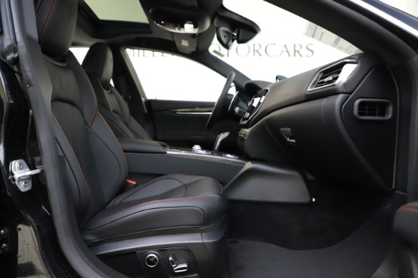 New 2021 Maserati Ghibli S Q4 GranSport for sale $98,035 at Bentley Greenwich in Greenwich CT 06830 24