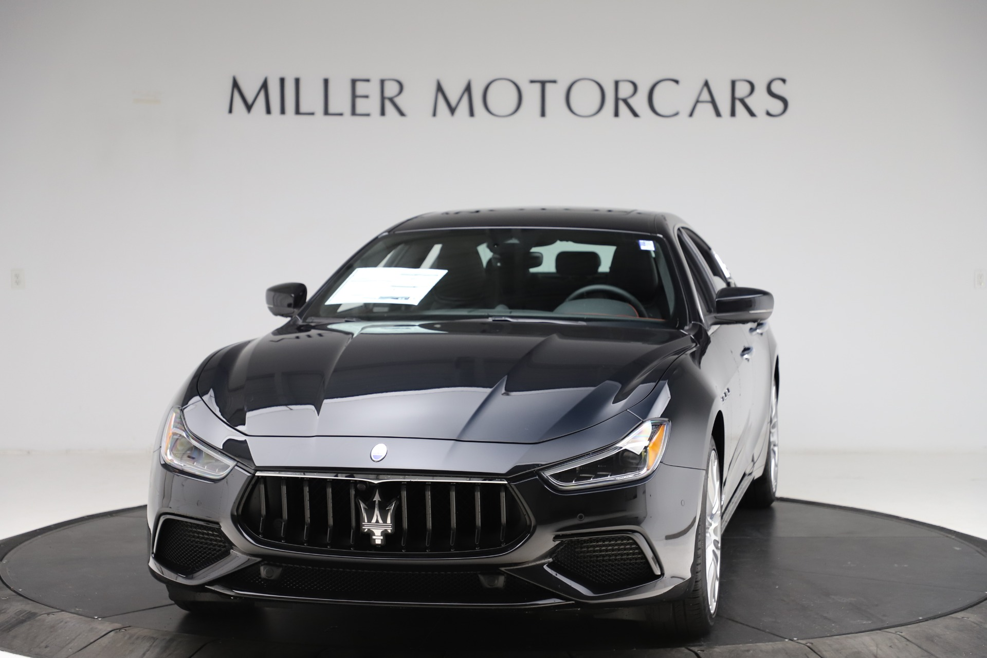New 2021 Maserati Ghibli S Q4 GranSport for sale $98,035 at Bentley Greenwich in Greenwich CT 06830 1