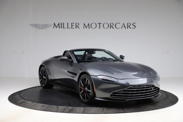 New 2021 Aston Martin Vantage Roadster Convertible for sale $178,186 at Bentley Greenwich in Greenwich CT 06830 10