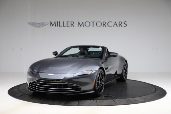 New 2021 Aston Martin Vantage Roadster Convertible for sale $178,186 at Bentley Greenwich in Greenwich CT 06830 12