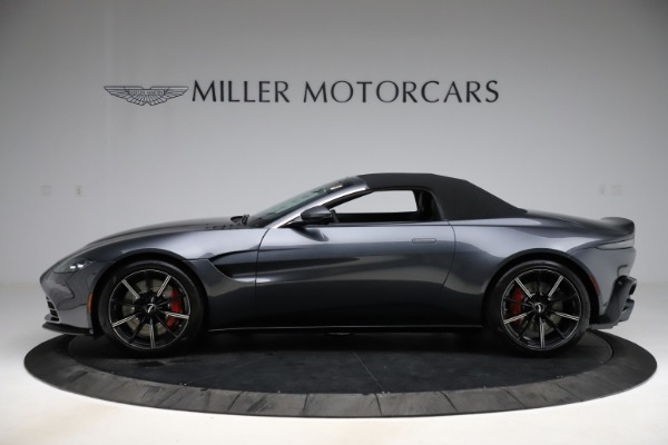 New 2021 Aston Martin Vantage Roadster Convertible for sale $178,186 at Bentley Greenwich in Greenwich CT 06830 13
