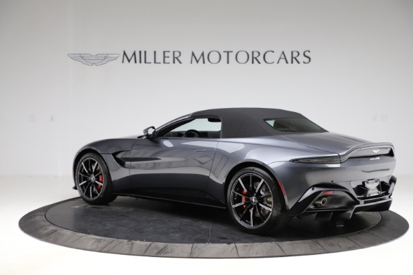 New 2021 Aston Martin Vantage Roadster Convertible for sale $178,186 at Bentley Greenwich in Greenwich CT 06830 14