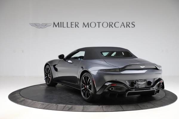 New 2021 Aston Martin Vantage Roadster Convertible for sale $178,186 at Bentley Greenwich in Greenwich CT 06830 15