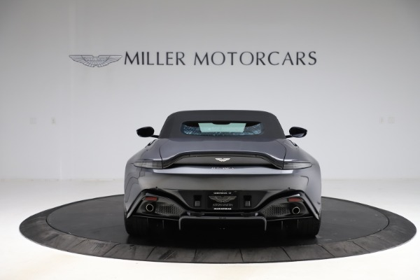 New 2021 Aston Martin Vantage Roadster Convertible for sale $178,186 at Bentley Greenwich in Greenwich CT 06830 16