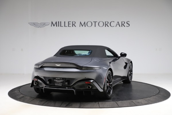 New 2021 Aston Martin Vantage Roadster Convertible for sale $178,186 at Bentley Greenwich in Greenwich CT 06830 17