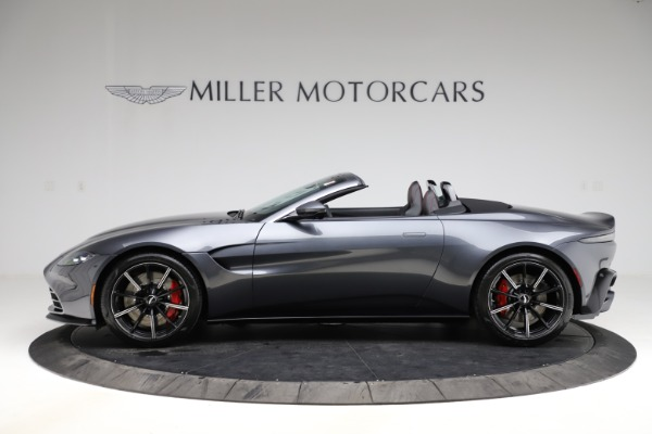 New 2021 Aston Martin Vantage Roadster Convertible for sale $178,186 at Bentley Greenwich in Greenwich CT 06830 2
