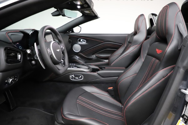 New 2021 Aston Martin Vantage Roadster Convertible for sale $178,186 at Bentley Greenwich in Greenwich CT 06830 21
