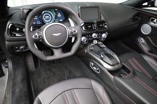 New 2021 Aston Martin Vantage Roadster Convertible for sale $178,186 at Bentley Greenwich in Greenwich CT 06830 22