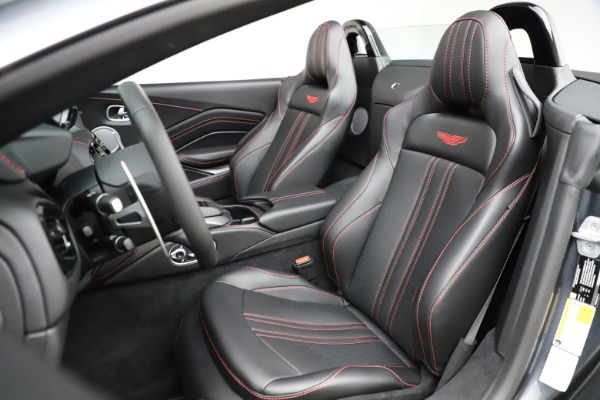 New 2021 Aston Martin Vantage Roadster Convertible for sale $178,186 at Bentley Greenwich in Greenwich CT 06830 23
