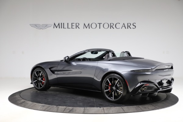 New 2021 Aston Martin Vantage Roadster Convertible for sale $178,186 at Bentley Greenwich in Greenwich CT 06830 3