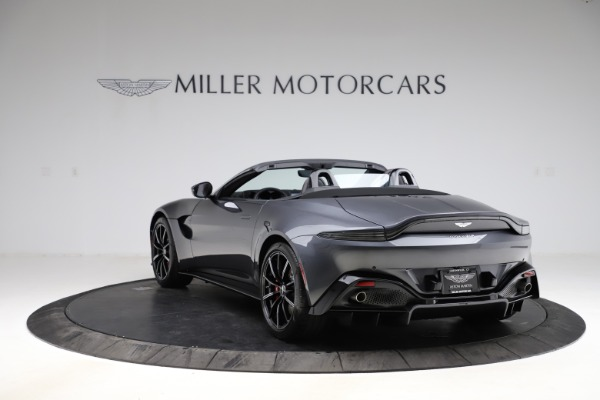 New 2021 Aston Martin Vantage Roadster Convertible for sale $178,186 at Bentley Greenwich in Greenwich CT 06830 4