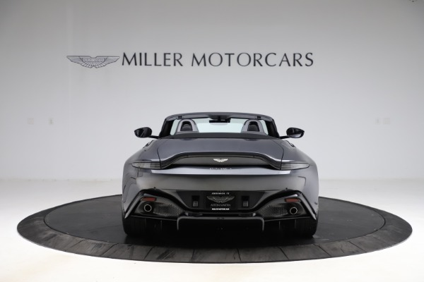 New 2021 Aston Martin Vantage Roadster Convertible for sale $178,186 at Bentley Greenwich in Greenwich CT 06830 5