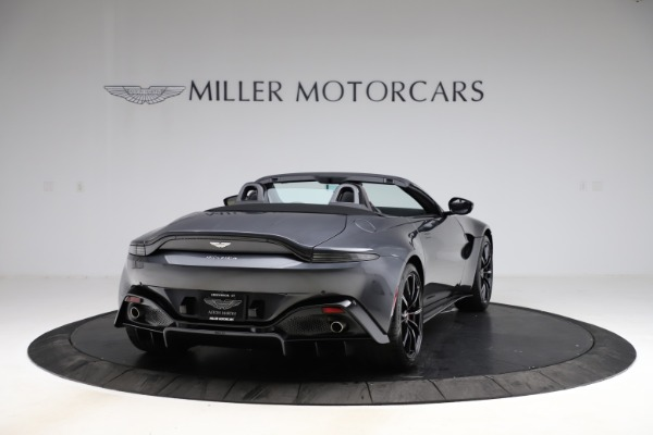 New 2021 Aston Martin Vantage Roadster Convertible for sale $178,186 at Bentley Greenwich in Greenwich CT 06830 6