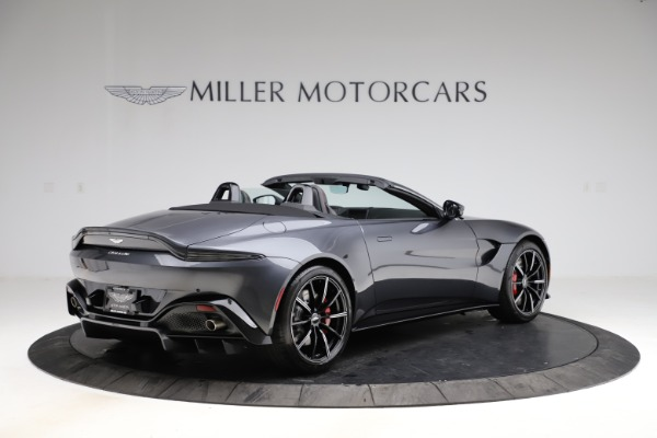 New 2021 Aston Martin Vantage Roadster Convertible for sale $178,186 at Bentley Greenwich in Greenwich CT 06830 7