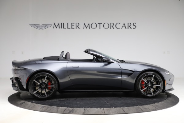 New 2021 Aston Martin Vantage Roadster Convertible for sale $178,186 at Bentley Greenwich in Greenwich CT 06830 8