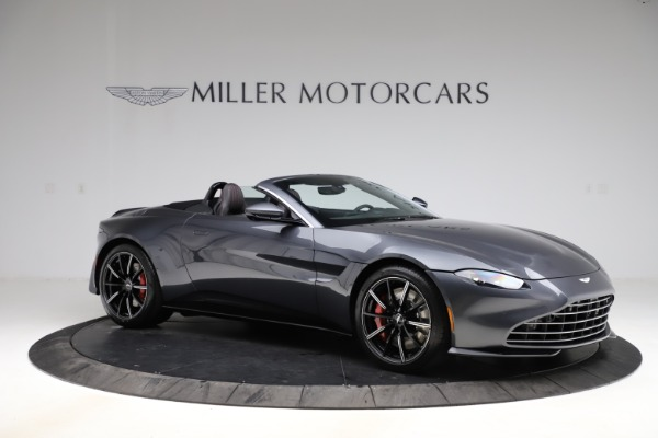 New 2021 Aston Martin Vantage Roadster Convertible for sale $178,186 at Bentley Greenwich in Greenwich CT 06830 9