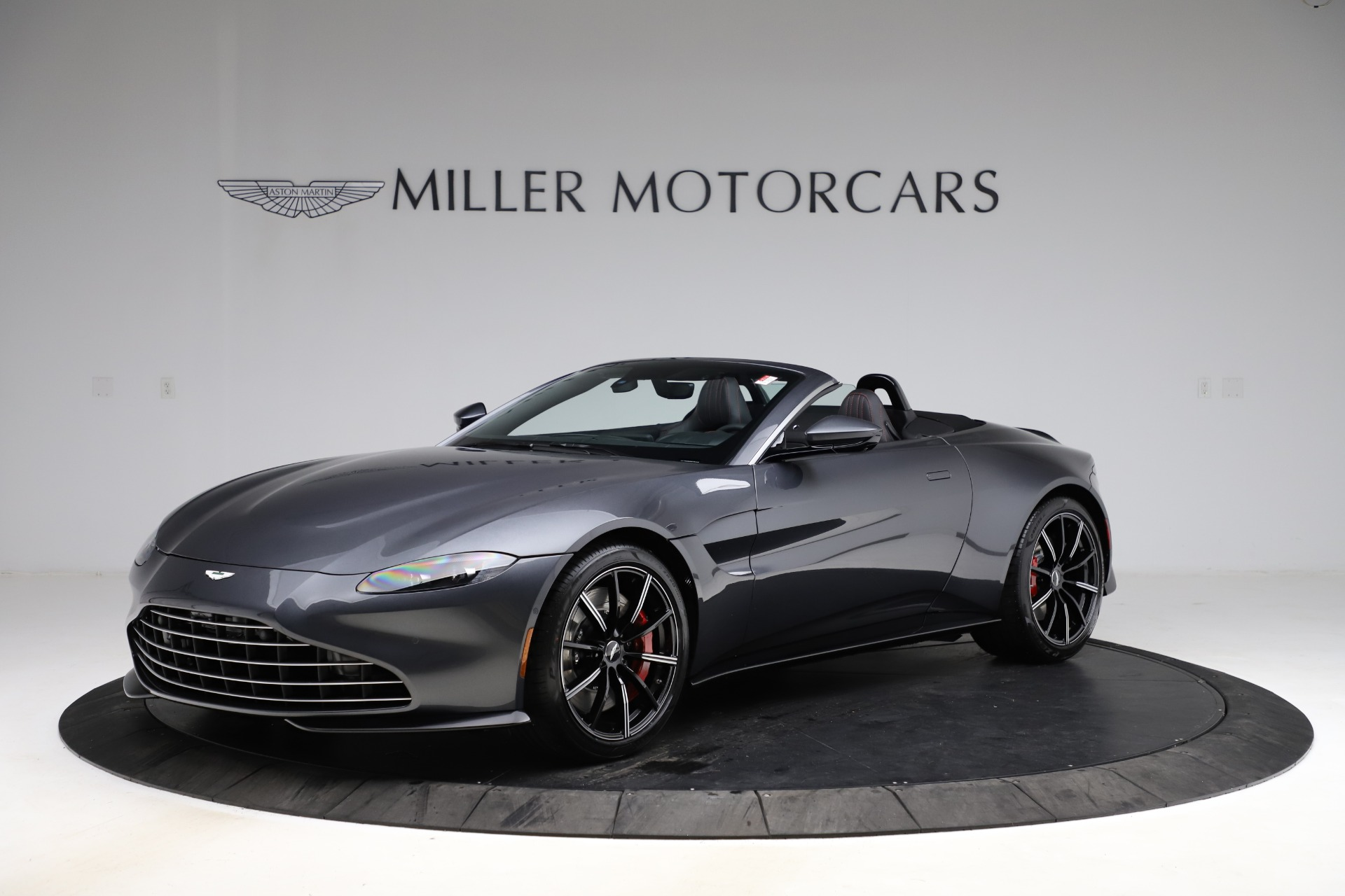 New 2021 Aston Martin Vantage Roadster Convertible for sale $178,186 at Bentley Greenwich in Greenwich CT 06830 1
