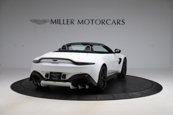 New 2021 Aston Martin Vantage Roadster Convertible for sale $189,186 at Bentley Greenwich in Greenwich CT 06830 6