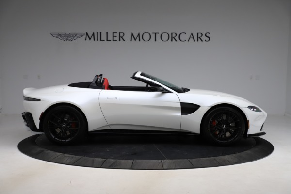 New 2021 Aston Martin Vantage Roadster Convertible for sale $189,186 at Bentley Greenwich in Greenwich CT 06830 8