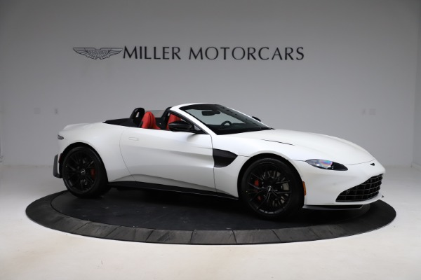 New 2021 Aston Martin Vantage Roadster Convertible for sale $189,186 at Bentley Greenwich in Greenwich CT 06830 9