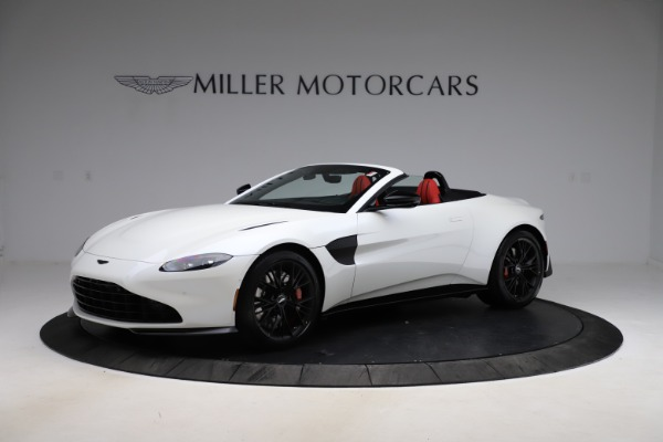 New 2021 Aston Martin Vantage Roadster Convertible for sale $189,186 at Bentley Greenwich in Greenwich CT 06830 1