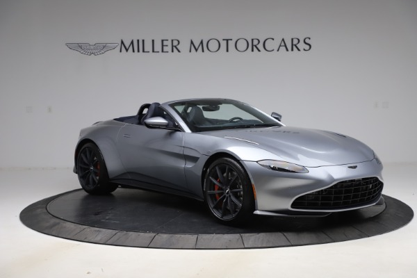 New 2021 Aston Martin Vantage Roadster Convertible for sale $199,285 at Bentley Greenwich in Greenwich CT 06830 10
