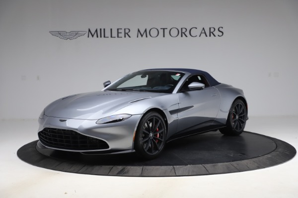 New 2021 Aston Martin Vantage Roadster Convertible for sale $199,285 at Bentley Greenwich in Greenwich CT 06830 15