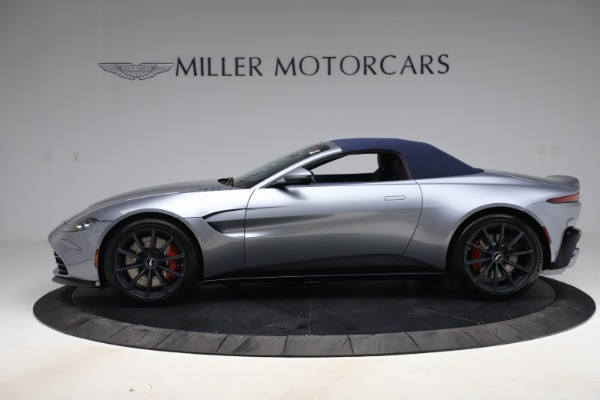New 2021 Aston Martin Vantage Roadster Convertible for sale $199,285 at Bentley Greenwich in Greenwich CT 06830 16