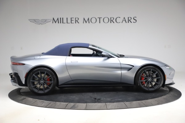 New 2021 Aston Martin Vantage Roadster Convertible for sale $199,285 at Bentley Greenwich in Greenwich CT 06830 17