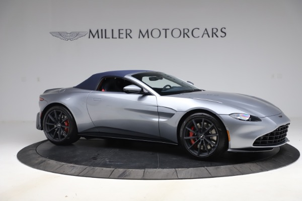 New 2021 Aston Martin Vantage Roadster Convertible for sale $199,285 at Bentley Greenwich in Greenwich CT 06830 18