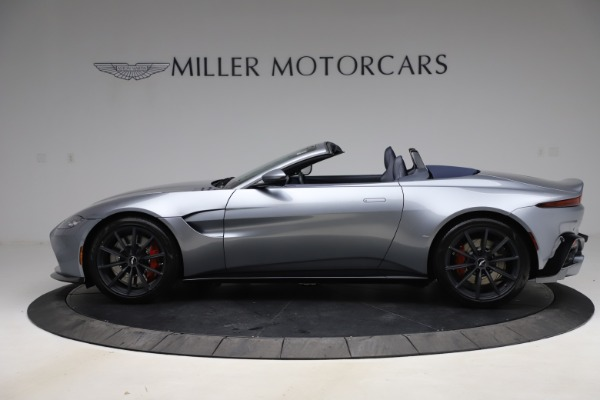 New 2021 Aston Martin Vantage Roadster Convertible for sale $199,285 at Bentley Greenwich in Greenwich CT 06830 2