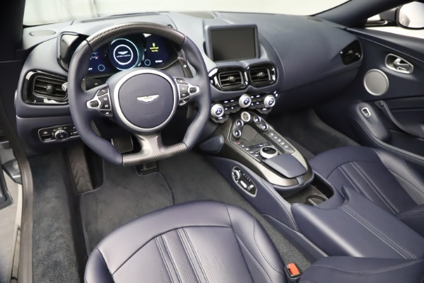 New 2021 Aston Martin Vantage Roadster Convertible for sale $199,285 at Bentley Greenwich in Greenwich CT 06830 22
