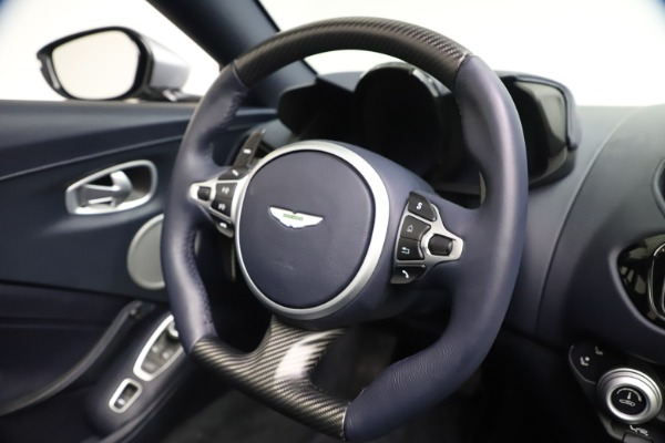 New 2021 Aston Martin Vantage Roadster Convertible for sale $199,285 at Bentley Greenwich in Greenwich CT 06830 26