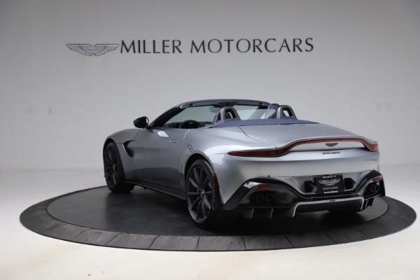 New 2021 Aston Martin Vantage Roadster Convertible for sale $199,285 at Bentley Greenwich in Greenwich CT 06830 4