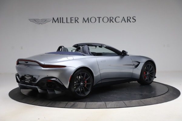 New 2021 Aston Martin Vantage Roadster Convertible for sale $199,285 at Bentley Greenwich in Greenwich CT 06830 7
