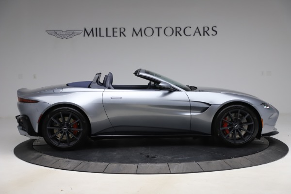 New 2021 Aston Martin Vantage Roadster Convertible for sale $199,285 at Bentley Greenwich in Greenwich CT 06830 8