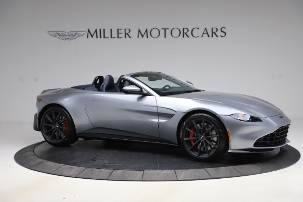 New 2021 Aston Martin Vantage Roadster Convertible for sale $199,285 at Bentley Greenwich in Greenwich CT 06830 9