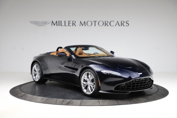New 2021 Aston Martin Vantage Roadster Convertible for sale $205,686 at Bentley Greenwich in Greenwich CT 06830 10